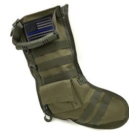 Thin Blue Line USA Tactical Christmas Stocking - Olive