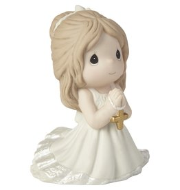 Precious Moments Remembrance Of My First Communion Girl Figurine