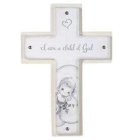 Precious Moments I Am A Child Of God Baptism Keepsake Cross