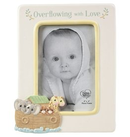 Precious Moments Overflowing With Love Noah's Ark Ceramic Photo Frame