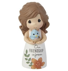 Precious Moments Girl with Bird Our Friendship Is Forever Figurine