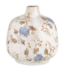 47th & Main BUD VASE - BLUE FLOWER