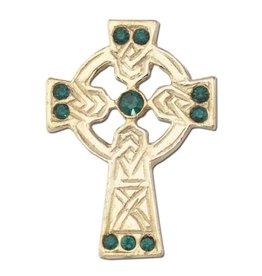 Christian Brands Celtic Cross Lapel Pin