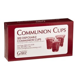 Living Grace Recyclable Disposable Communion Cup – 500/bx