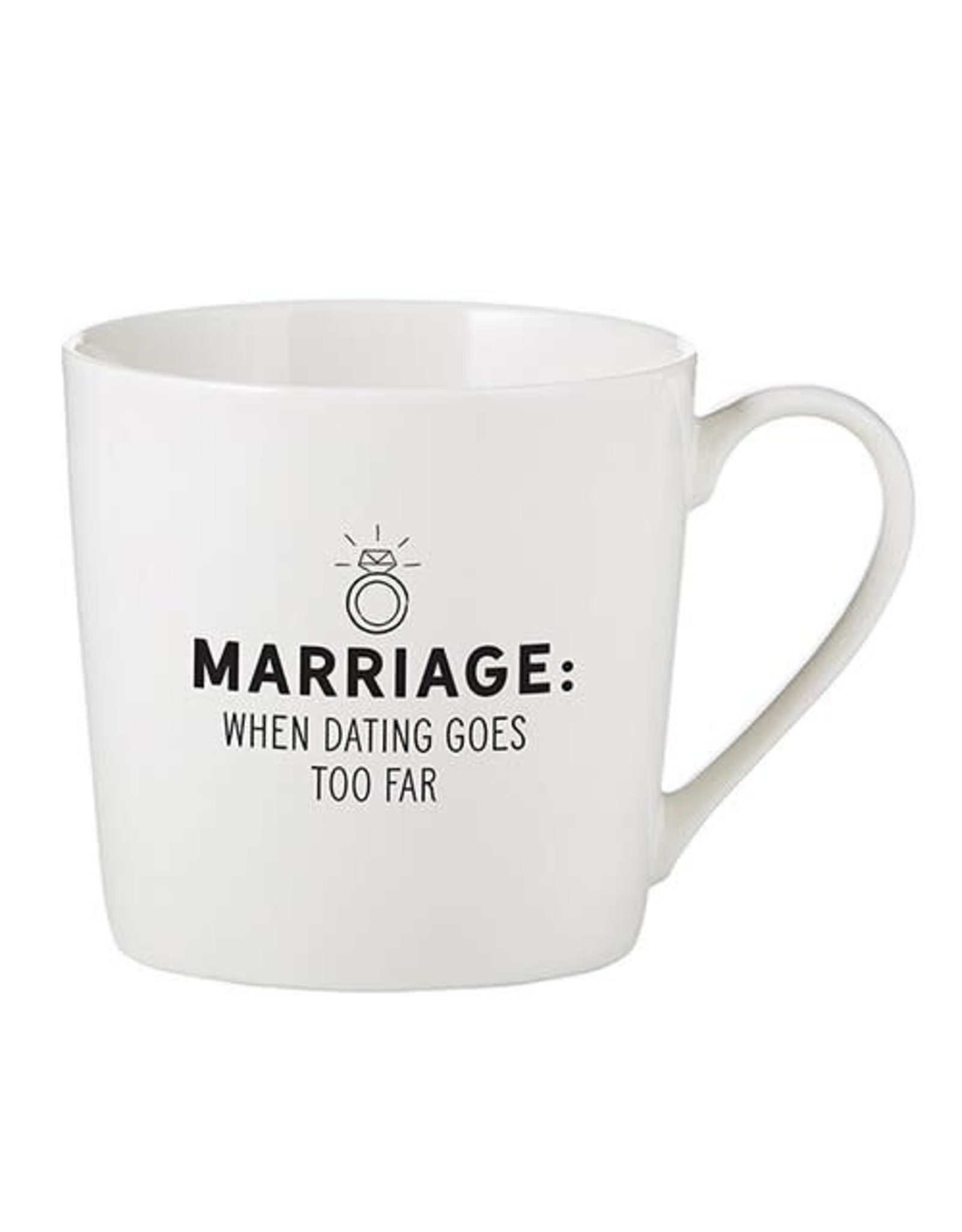 Santa Barbara Designs Café Mug - When Dating Goes Too Far