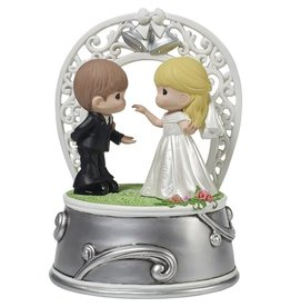 Precious Moments First Dance As Mr. and Mrs. Musical Statue
