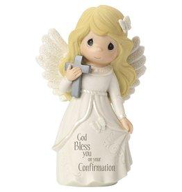 Precious Moments Confirmation Angel Bisque Porcelain Figurine