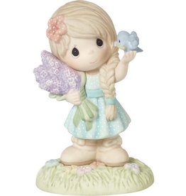 Precious Moments Precious Moments CC209001 2020 Collector's Club IG Kit Girl with Flowers Figurine