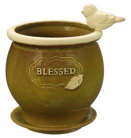 Precious Moments Blessed Ceramic Planter