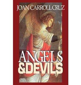 Tan Books Angels & Devils by Joan Carroll Cruz (Paperback)
