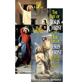 Tan Books The Life of Jesus Christ and Biblical Revelations from the Visions of Blessed Anne Catherine Emmerich 4 Volume Set (Paperback)