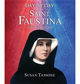 Sophia Press Day by Day with Saint Faustina: 365 Reflections by Susan Tassone (Paperback)