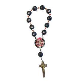 Lumen Mundi St. Benedict Door Rosary with Wood Beads