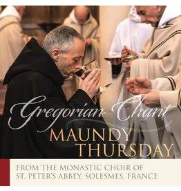 Paraclete Press Maundy Thursday - Gregorian Chant (CD)