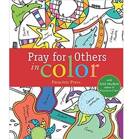 Paraclete Press Praying for Others in Color with Sybil MacBeth