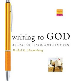 Paraclete Press Writing to God: 40 Days of Praying with My Pen by Rachel G. Hackenberg
