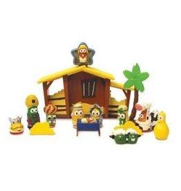 VeggieTales VeggieTales Nativity Play Set