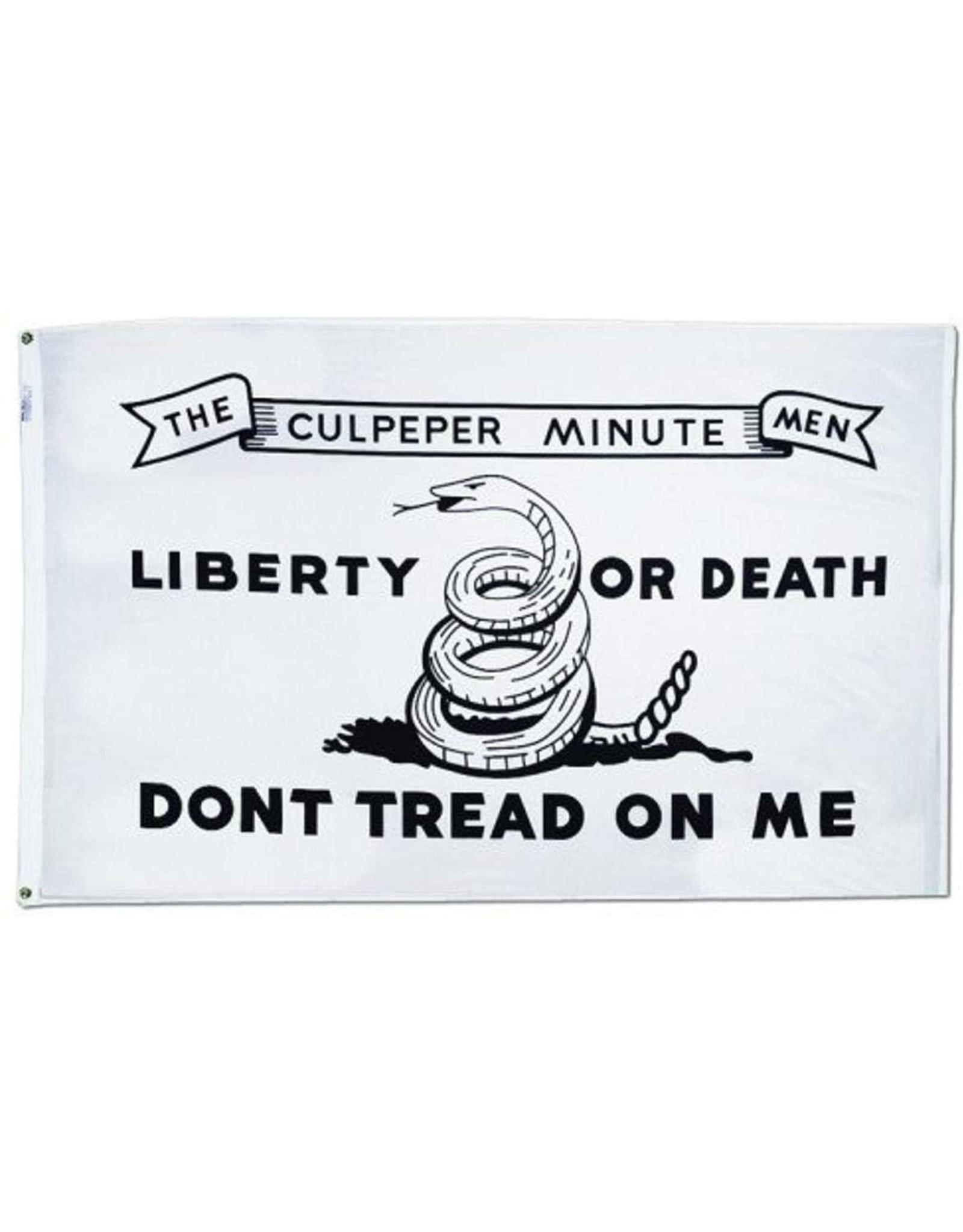 """Annin 3'x5' Culpeper Minute Men 1775 """"Don't Tread on Me"""" Flag"""