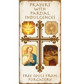 Association of Marian Helpers Prayers with Partial Indulgences to Free Souls From Purgatory Pamphlet