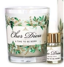 Cher Dieu Cher Dieu A Time to Be Born 3 oz Candle Kit