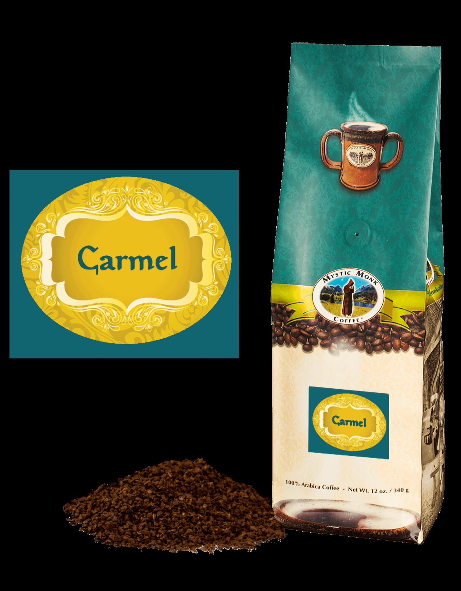 Mystic Monk Carmel Ground Coffee (12 oz)