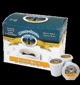 Mystic Monk Vespers Decaf Single Serve Coffee Cups (10 Cups)