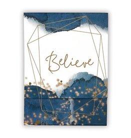 Faithworks Notepad - Believe Pocket