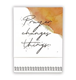 Faithworks Notepad - Prayer Changes Things Pocket