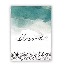 Faithworks Notepad - Blessed Pocket, Turquoise