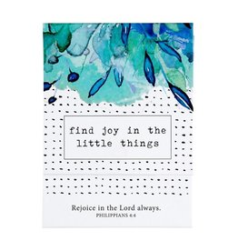 Faithworks Pocket Notepad - Find Joy in the Little Things
