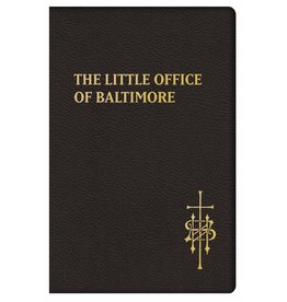 Tan Books The Little Office Of Baltimore: A Traditional Office For American Laity by Claudio Salvucci (Leatherette Cover)