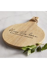 Faithworks Bless This Home Wood Cheese Board Set