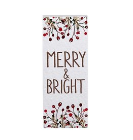 Heartfelt - Made with Love Merry and Bright Wood Block