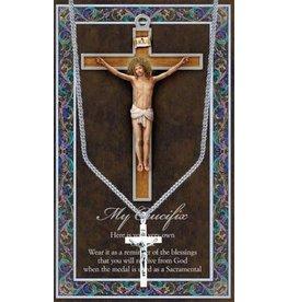 Hirten Medal with Prayer Card - My Crucifix