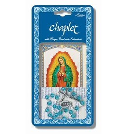 Hirten Our Lady of Guadalupe Chaplet with Prayer Card and Instructions