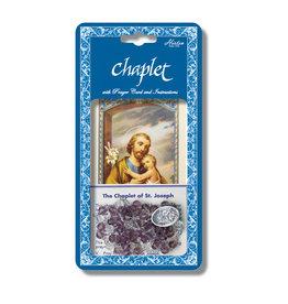 Hirten St. Joseph Chaplet with Prayer Card and Instructions