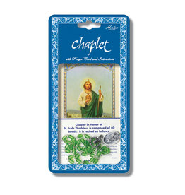 Hirten St. Jude Chaplet with Prayer Card and Instructions