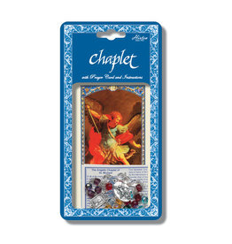 Hirten St. Michael Chaplet with Prayer Card and Instructions