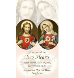 Association of Marian Helpers ALLIANCE OF THE TWO HEARTS NOVENA PRAYER CARD
