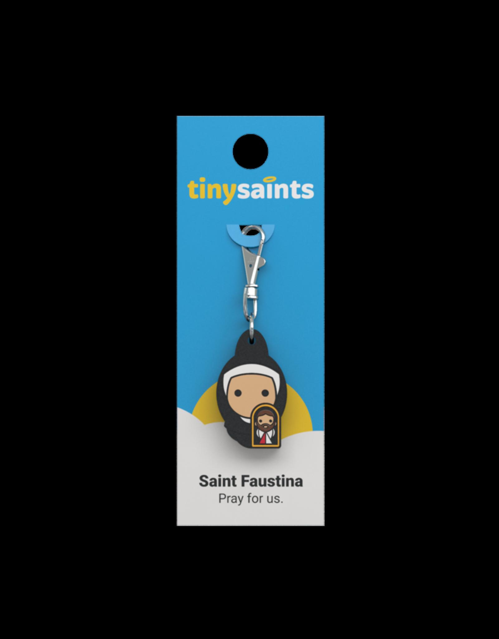 Tiny Saints Tiny Saint Charm - St Faustina