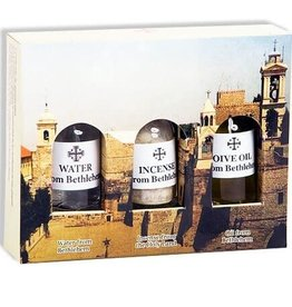Shomali Water, Incense & Oil from the Holy Land