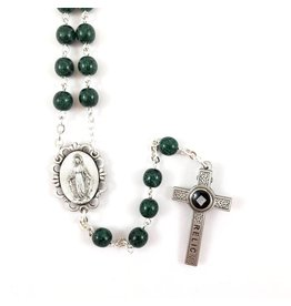 Shomali Green Rosary Jerusalem Relic