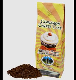 Mystic Monk Cinnamon Coffee Cake Medium Roast Ground Coffee (12 oz)
