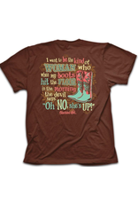 """Cherished Girl Be the Kind of Woman That Makes the Devil Say """"Oh no"""" T-Shirt"""