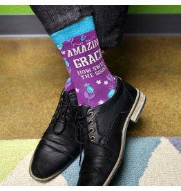 Kerusso Bless My Sole Socks - Amazing Grace