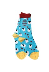 Kerusso Bless My Sole Socks - Jesus Loves Ewe
