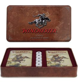 Rivers Edge Products Playing Cards and Dice in Tin - Winchester