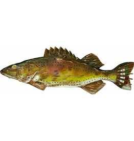Rivers Edge Products Cribbage Board - Fish