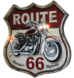 Rivers Edge Products LED Bar Sign - Route 66