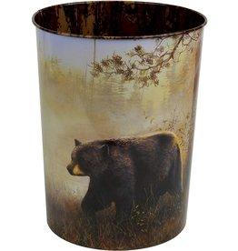 Rivers Edge Products Waste Basket - Jim Hansel Bear